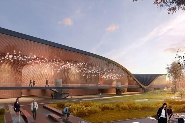 Wizualizacja Centrum Muzyki
