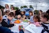 Festyn profilaktyczny w Kcyni, by powrót do szkoły był bezpieczny [zdjęcia]