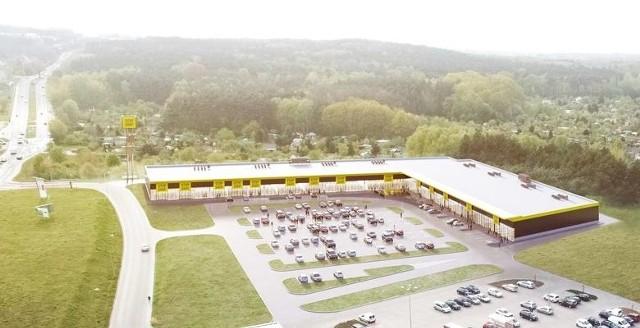 STOP SHOP Zielona Góra będzie miał łącznie 12 sklepów na dostępnej powierzchni pod wynajem prawie 6.700 m kw.