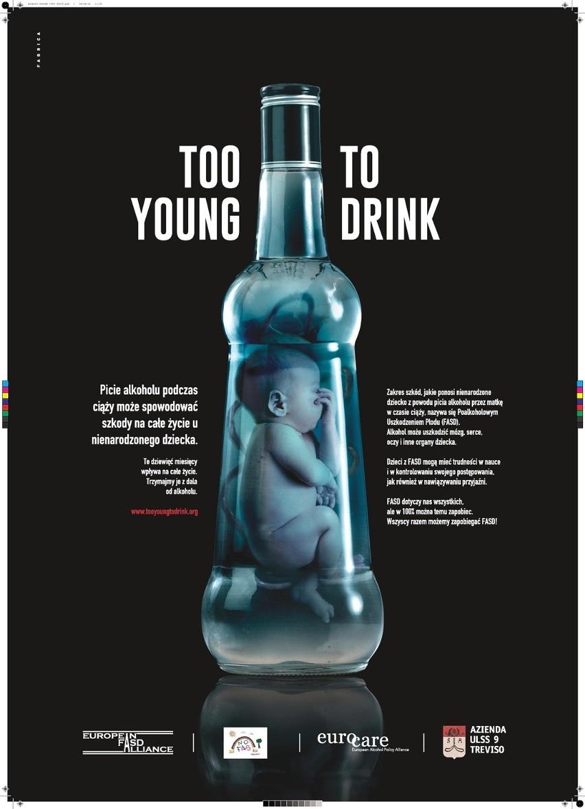 2 Young 2 Drink światowa Kampania Antyalkoholowa