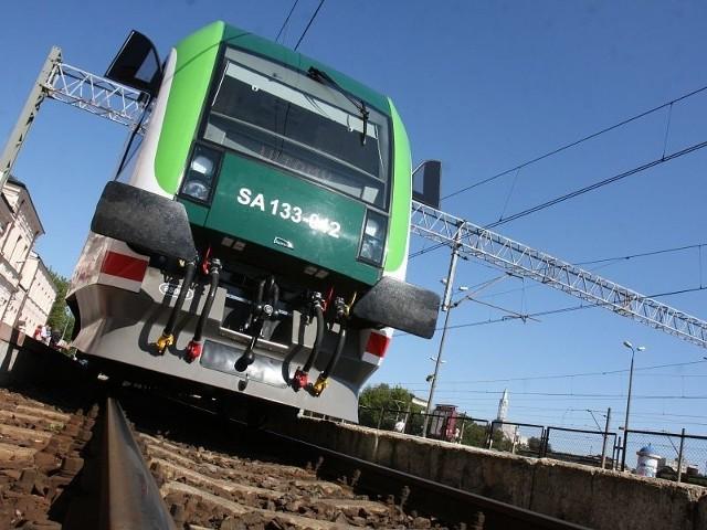 pociągów ulega korekcie