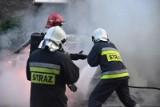 Wrocław: W nocy spłonęła skoda octavia