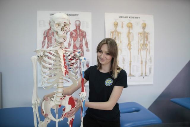 Na pierwszych otwartych zajęciach dla pań Martyna Kasper mówiła o fizjologii dna miednicy. Kolejne mają odbyć się w marcu.
