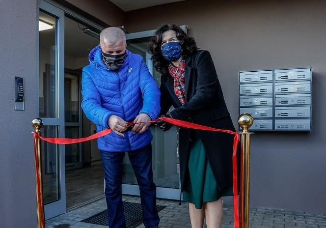 TBS Motława w środę, 21.12.2020 r. oddało nowy budynek przy ul. Piotrkowskiej. Zamieszka w nim 55 rodzin