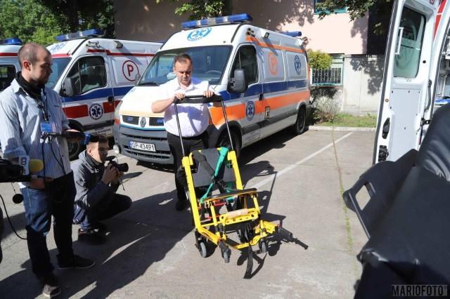 Nowoczesne karetki są już w Opolu i służą pacjentom.