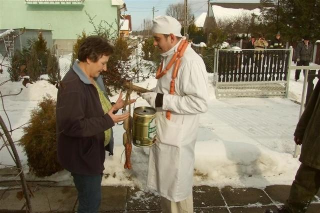 Wodzenie niedLwiedzia w Komprachcicach. Zdjecia przyslal internauta bodzio2256