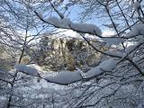 Piękna zima na jurze, dolina Kluczwody w zimowej szacie [GALERIA]