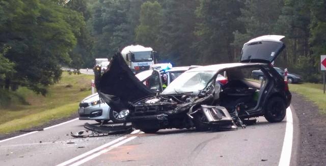 W wypadku została ranna jedna osoba