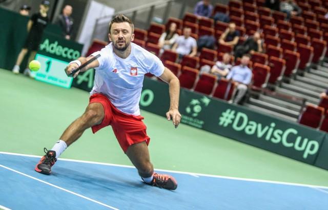 Michał Przysiężny miał duży udział w awansie Polski do Grupy Światowej Pucharu Davisa