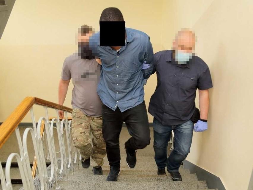 Nigeryjczycy aresztowani we Wrocławiu.