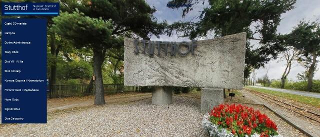 Ujęcie z wirtualnego ujęcia Muzeum w Stutthofie - Stacja Kolejki