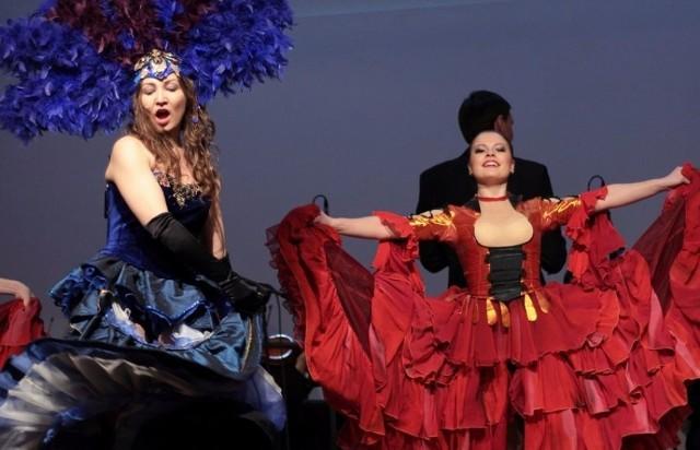 Widowisko Operetki Kijowskiej to także piękne kostiumy