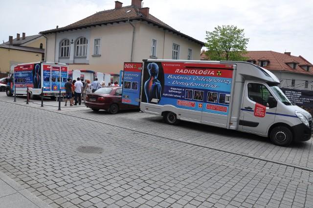 Do Jaworzna przyjedzie mobilna pracownia z Krakowa. W osteobusie będziemy mogli zbadać swoje kości. Badanie jest płatne i będzie wykonane przy przychodni Elvita.