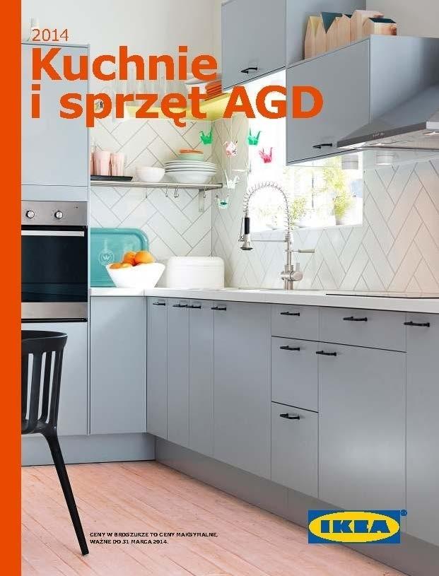 Ikea Broszura Kuchnie I Sprzęt Agd 2014 Zobacz Katalog