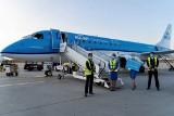 KLM Królewskie Holenderskie Linie Lotnicze zainaugurowały nową trasę: Amsterdam-Poznań-Amsterdam