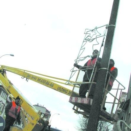 Ze świątecznym przystrajaniem miasta pracownicy ratusza powinni uporać się do 6 grudnia