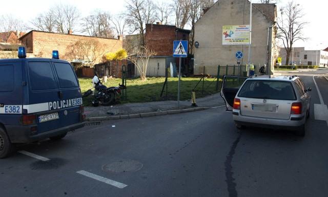 Do zdarzenia doszło na skrzyżowaniu ulic Kilińskiego z Żeromskiego w Sulęcinie