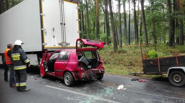 Śmiertelny wypadek w Kowalach (powiat oleski).