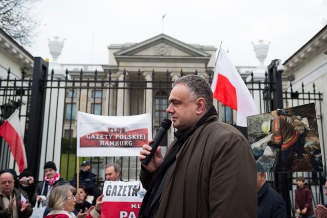 """Tomasz Sakiewicz, red. nacz. """"Gazety Polskiej"""", archiwum"""