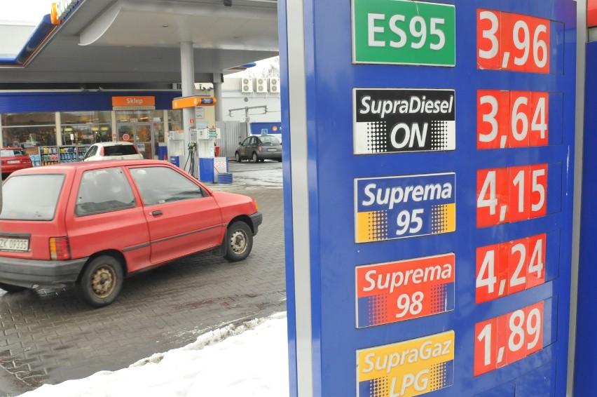 W stacji Statoil w Koszalinie przy ul. Krakusa i Wandy litr Pb 95 kosztował wczoraj aż 3,96 złotego.