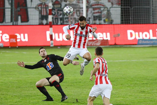 W jesiennym meczu w Krakowie Cracovia wygrała 3:1