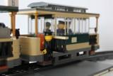 Poznańskie tramwaje z klocków LEGO. Dzieła motorniczego jeżdżą po miniaturowym torowisku [ZDJĘCIA]