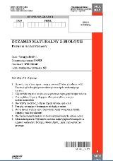 Matura 2015. Biologia, poziom rozszerzony LICEUM TECHNIKUM [ZADANIA, ARKUSZE PDF, ODPOWIEDZI]