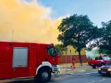 Gdańsk Siedlce: pożar pustostanu na Powstańców Warszawskich. Wieczorem 23.06 doszło do groźnego pożaru pustostanu [ZDJĘCIA]