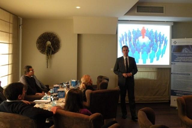 W spotkaniu wzięli udział przedstawiciele 10 małych i średnich przedsiębiorstw.
