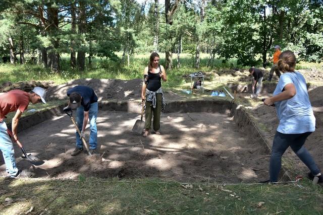 W tym roku archeolodzy znów wrócili na niewielką wysepkę Dęby.