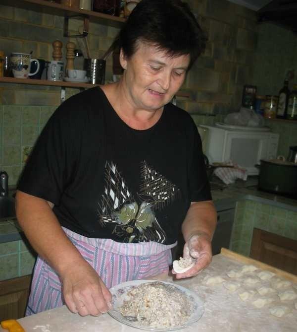 Specjalnością gospodarstwa Grażyny Dereń mają być m.in. domowe pierogi