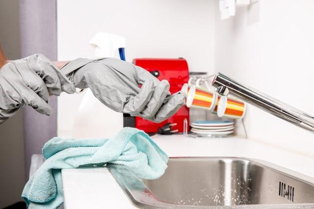 Czyste mieszkanie to mniejsze ryzyko rozprzestrzeniania chorób.