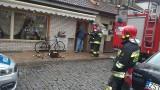 Pożar w restauracji w Stargardzie. Zapalił się stroik przy drzwiach wejściowych