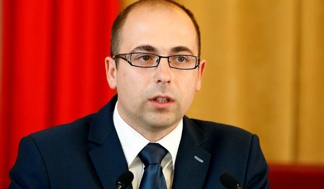 Radny Marcin Zalewski