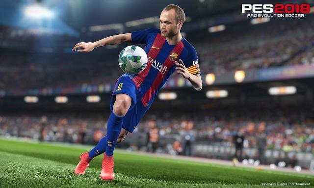 PES 2018Andrés Iniesta w grze PES 2018