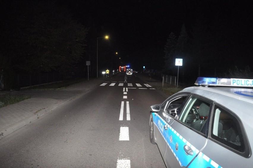 Dramatyczny wypadek koło Lublina. 67-latek w rejonie przejścia dla pieszych potrącił 9-latka. Dziecko nie przeżyło