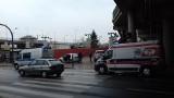 Wypadek przy dworcu Kaliskim - pogotowie i policja na miejscu [zdjęcia]