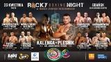 Rocky Boxing Night. Walki pięściarskie na 34. piętrze budynku Olivia Star w Gdańsku już w piątek 23.04.2021