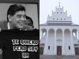 Gregorianka za Diego Maradonę. Lublinianie w kościele św. Michała Archanioła będą się modlić za gwiazdę piłki nożnej