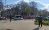 Wypadek na al. Piłsudskiego w Białymstoku. Pijany kierowca potrącił rowerzystę i uciekł. Wpadł na al. Tysiąclecia Państwa Polskiego