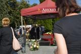 Gustaw Lis, żagański artysta i społecznik spoczął na cmentarzu komunalnym