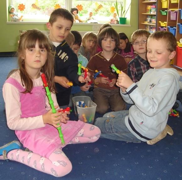 W Przedszkolu Miejskim nr 1 odrzucono 72 podania. Miejsc jest tam tylko dla 120 dzieci. Na zdjęciu grupa sześciolatków, która we wrześniu zrobi miejsce dla młodszych kolegów.