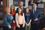 Stypendia firmy Prestige Męski dla trzech uczennic białostockiej odzieżówki