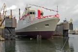 W Remontowej Shipbuilding w czwartek chrzest i wodowanie holownika i niszczyciela min dla Marynarki Wojennej