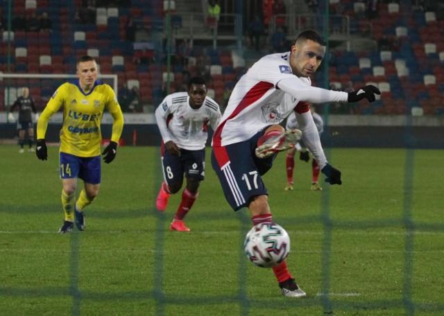 Igor Angulo jeszcze przez miesiąc będzie piłkarzem Górnika Zabrze