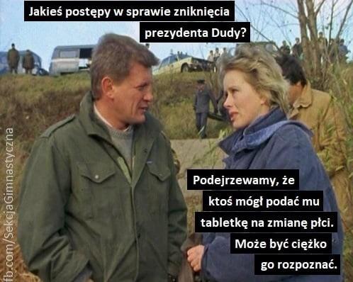 Andrzej Duda zniknął w ostrym cieniu mgły? Gdzie jest...