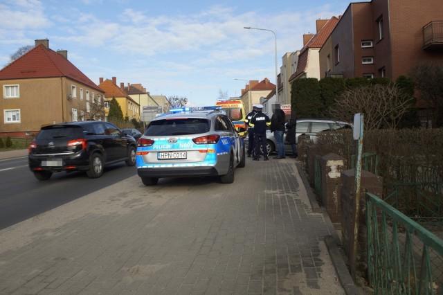 Potrącenie na ulicy Westerplatte