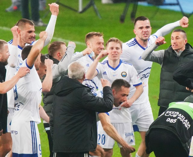 Sprawdźcie jak oceniliśmy piłkarzy PGE Stali Mielec za mecz z Lechem Poznań.