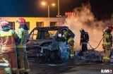 Pożar na stacji paliw przy A4. O włos od tragedii
