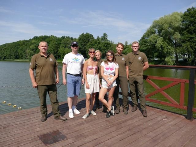 Edyta Herbuś odwiedziła Więcbork i lasy Nadleśnictwa Runowo Krajeńskie